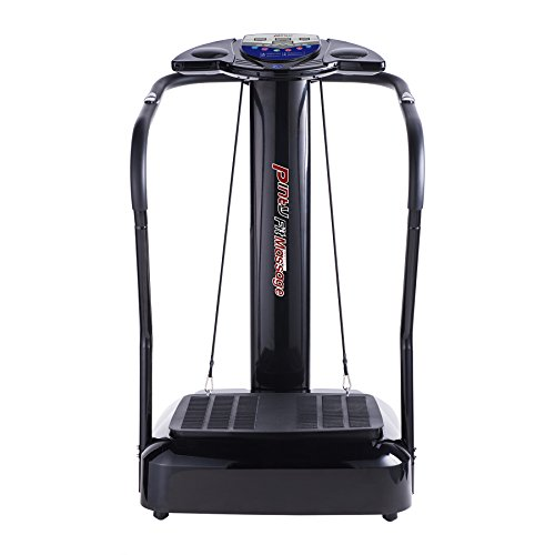 Pinty 2000W Whole Body Vibration Platform Exercise Machine with MP3 Player (180 Speed Levels Platform) from Pinty