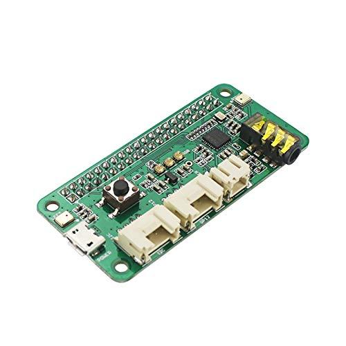 ZRNG Fit für Respeaker 2-MICs Hat für Raspberry Pi 4 Modell B Intelligentes Sprachmodul Dual Mikrofon Array Fit für Raspberry Pi Zero / 3B + / 3B