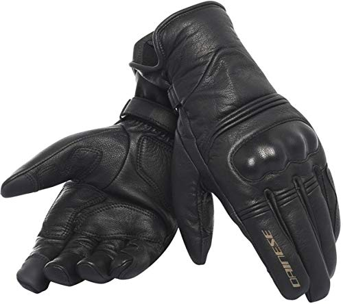 Dainese Gants de Moto, Noir/Noir/Noir, Taille XL