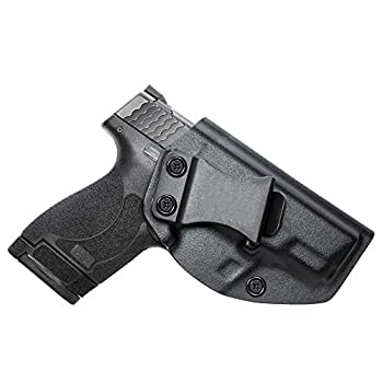 Sland Gun Holster IWB KYDEX Holster Fit  Smith & Wesson M&P Shield & Shield 2.0-9MM/.40 S&W Inside Waistband - Adjustable Cant - US KYDEX Made
