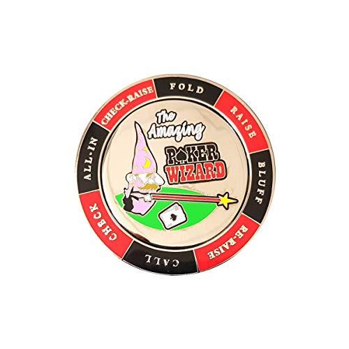 Card-Guard Poker Wizard - Spinner - en métal - 55 mm