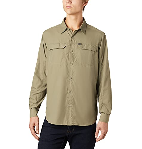 Columbia Men's Standard Silver Ridge 2.0 Long Sleeve Shirt, Sage, X Large