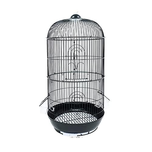 SHUNFAYOUXIANGS Parrot de jaulas de pájaros Redondentidad Birdcage El Loro Jaula de Gran tamaño Villa de Lujo Birdcage Birstiel Peony Myna Bird Birdie Cage para Las Cockatiels periquitos.