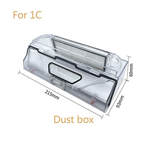 Best Prices! Iinger Robot Vacuum Cleaner Dust Box Accessories Fit for Xiaomi 1C Vacuum Cleaner Spare...