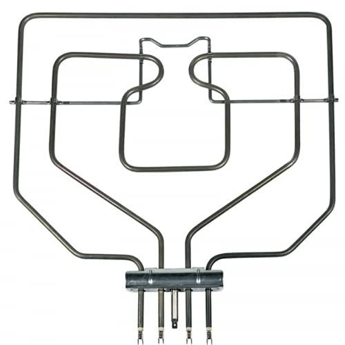 Desconocido Resistencia Grill para Horno BALAY/Bosch 472510 Adaptable Mod. 3HB506B01, 3HT518X03, 3HF518X02.