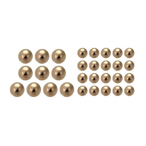 2.8mm Precision Solid Brass Recommendation Bearing Balls Pieces Credence 30
