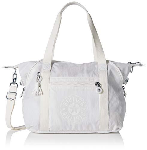Kipling Art Nc - Borse a secchiello Donna, Bianco (Lively White),...