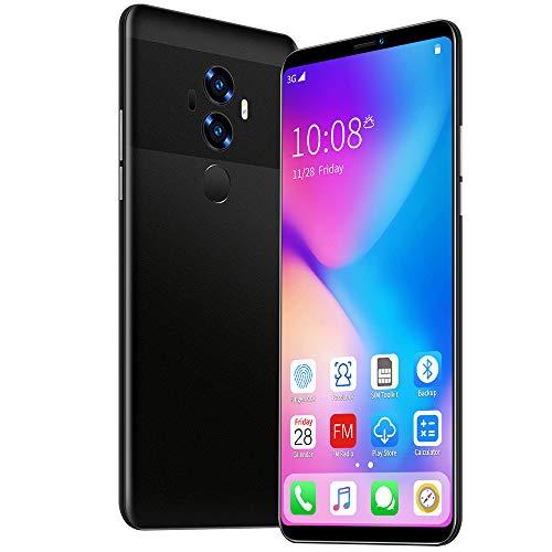 Smartphone sin Tarjeta SIM 2019 Teléfono móvil Pantalla Grande de 5,8 Pulgadas Pantalla Completa Android 9.0 OS Reconocimiento Facial de Huellas Dactilares