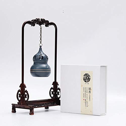 TaoRan Räuchergefäß Räuchergefäß aus reinem Kupfer für hängende Hebezüge-Räuchergefäß + erster Duft 1 Dose