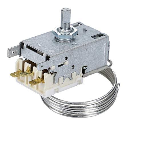 DL-pro termostato adecuado para Liebherr 6151086 Ranco K59H1300 K59-H1300 reemplaza K59-L1287 Miele Privileg AEG Electrolux Juno para el refrigerador frigoríficos