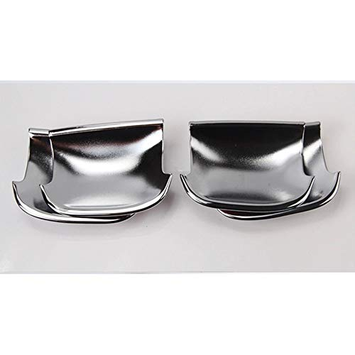 XLTWKK Chrome Car Door Handle Cup Bowl Cover Trim Sticker Styling,For VW PASSAT B6 3C CC 2006 2007 2008 2009 2010 2011