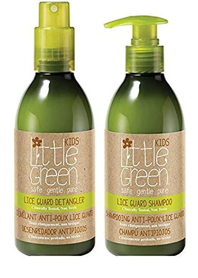 Little Green Lice Guard Duo – Lice-Repelling Shampoo and Natural Detangling Spray – Non-Toxic and Safe for Kids – Dermatologist Tested – Essential Oil Lice Blend – Children's Lice Treatment