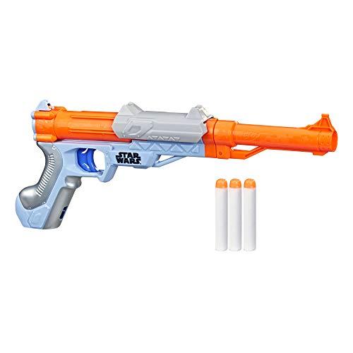 NERF Star Wars Blaster -- The Mandalorian -- Fires...