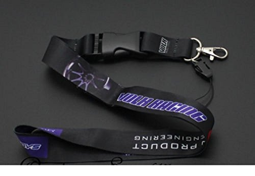 JDM VOLKS RACING RAY'S Lanyard Cell Phone Keychain Quick Release Universal New