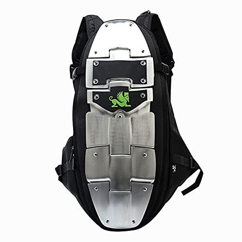 SANLAI Motorcycle Backpack armour Knapsack Waterproof Motorbike Helmet Strap Black Cycling Bag Laptop Men Best birthday gifts Large Capacity