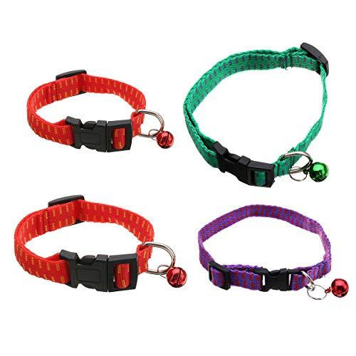 TENGGO Antipulgas Y Collar para Perro Y Gato Protección Universal para Mascotas Cuello Correa-# 04