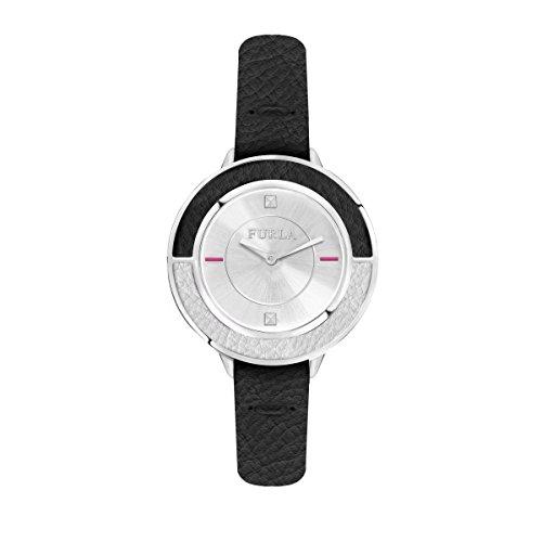 FURLA Reloj Analógico para Mujer de Cuarzo con Correa en Cuero R4251109504
