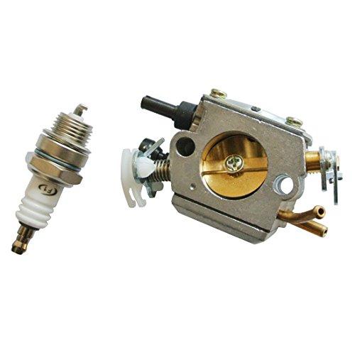 Générique Carburateur & L7T bougie pour Tronconneuse scie à chaîne Husqvarna 365 371 372 372XP Part de remplacement