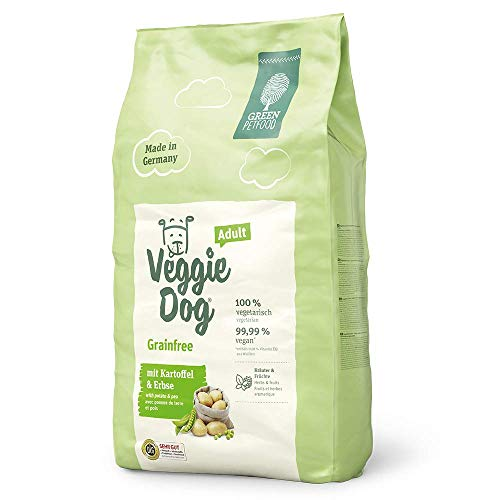 Green petf Brentwood veggiedog grainfree, 1er Pack (1 x 10 kg)