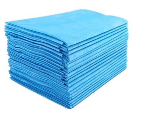 100 Einweg-Massagematratzen Krankenhaus Operationsraum Matratze Schlafsack Wasserdicht Einweg Bettlaken Beauty Salon Pad Blau
