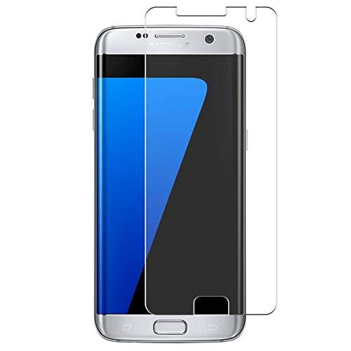 Vaxson 4 Unidades Protector de Pantalla, compatible con Samsung Galaxy S7 Edge au SCV33 docomo SC-02H [No Vidrio Templado] TPU Película Protectora