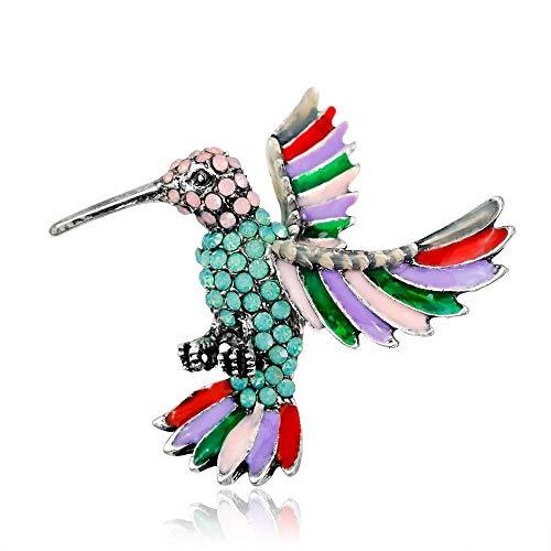 Sxuefang Broche, Broche,SxuefangDe Color Diamante Broche,SxuefangDe Animal Salvaje Broche,SxuefangDe Carpintero Salvaje Accesorios De Vestido De Fiesta De Mujer