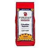 Puroast Low Acid Ground Coffee, Colombian Supremo Blend, High Antioxidant, 2.5 Pound Bag