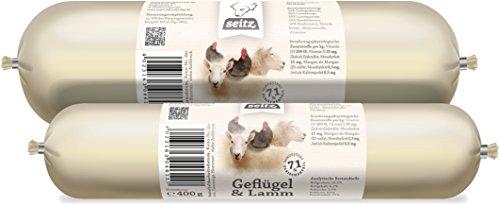 Hundewurst-Paket, Lamm, Geflügel, Pferd & Rind, 5 x 800 g, Nassfutter in Premuim Qualität