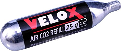 VELOX Cartouches CO2 25 g - 25 g, L'unité