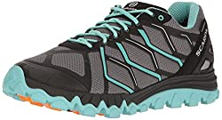 in budget affordable SCARPA SCAPRA Ladies Proton GTX WMN Trail Running Shoes Runner, Gray / Sky, 38 EU / 7 M US
