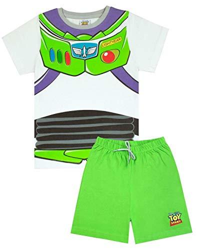 Toy Story Pijamas Set Corto de Disney Pixar Buzz Lightyear Traje de Niño