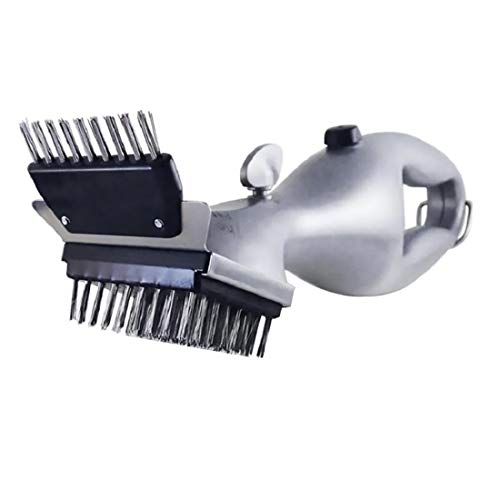 Grill Daddy pro Grill Cleaning Brush with steam | Barbecue Stainless Steel BBQ Cleaning Brush Outdoor Grill Cleaner with Power of Steam BBQ Accessories Cooking Tools