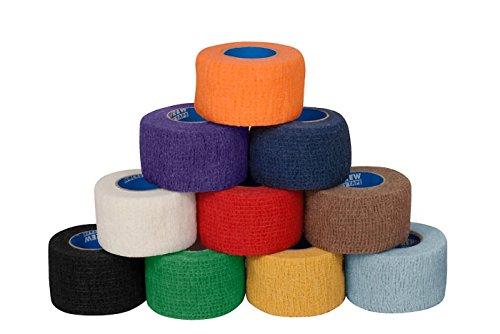 Powerflex Griffigkeits-Band für Hockeyschläger, Grip-Tape, blau