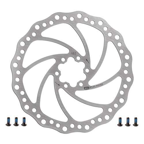Miles Racing Fahrrad Bremsscheibe - Stahl rostfrei - 180 mm