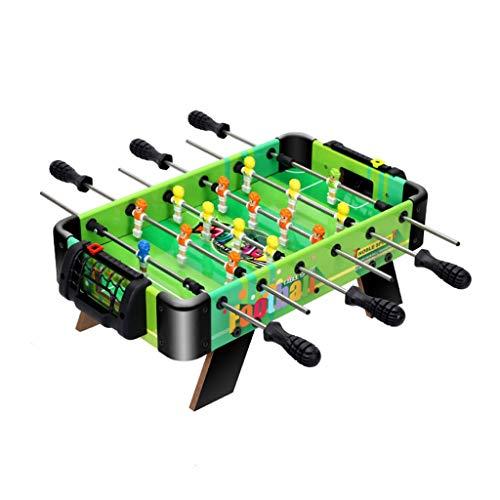 ZXQZ Calcio Balilla Calcio Balilla, Gioco di Calcio Balilla Pazzo, per I Giochi di società attività per Bambini Mini Biliardo (Color : 41cm)