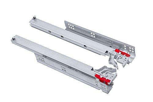 Vollausz/üge 350 mm 45 Kg Tragkraft mit Soft Close Schubladenschienen von JUNKER 1 VE 15 PAAR