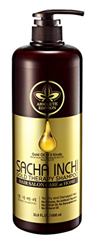 Doori Absolute Edition Sacha Inchi Gold Therapy Shampoo for Dry and Damaged