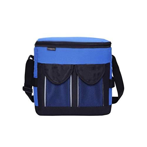 Willow Waterproof Camping Picknickkorb Tragbare Picknicktasche, isolierte wiederverwendbare Lunchtasche, erwachsener großer verdickter Isolationsbeutel mit verstellbarem Schultergurt Lagerung von Plas