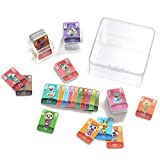 72 PCS NFC Tag Tiny Mini Game Cards for ACNH Animal Crossing New Horizons Amiibo Switch/Switch Lite/Wii U/New 3DS System (72 pcs) Animal Series 1-4