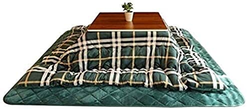 DUWEN Winter Heating tableKotatsu Table with Heater and Blanket Tables Winter Stove Folding Storage Heating Japanese-Style...