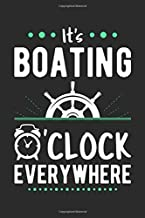 It's Boating O'clock Everywhere: Blank Lined 6