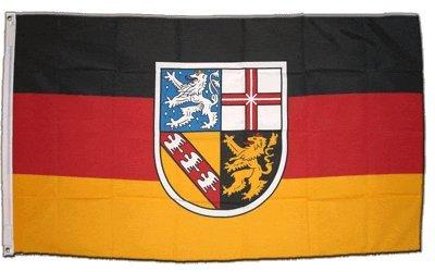 Flagge Deutschland Saarland - 60 x 90 cm