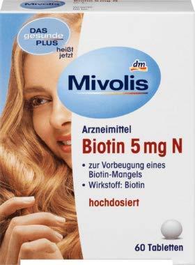 Mivolis Biotin 5 mg N, Tabletten, 60 Tabletten
