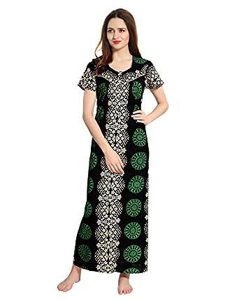 AV2 Women's Cotton Printed Nighty