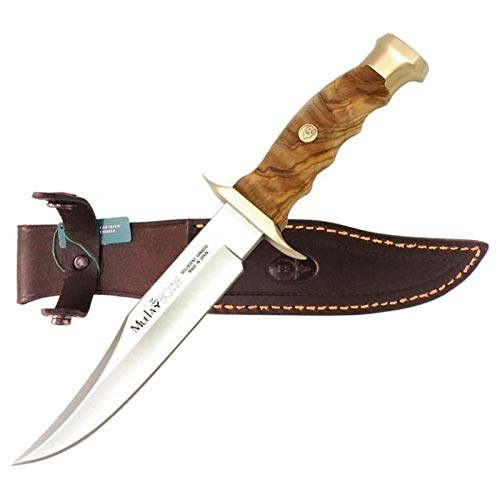 Muela Cuchillo de caza BW-16.OL con hoja de acero inoxidable...