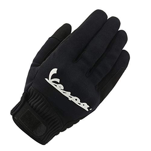 Vespa 606759M02VGBK Handschuh, Schwarz, M