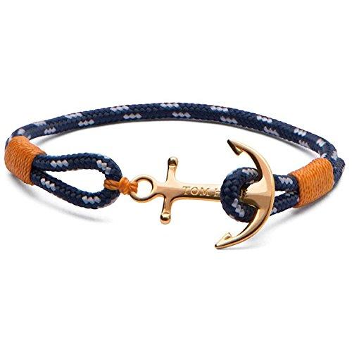 Bracelet TOM HOPE en Tissu Bleu