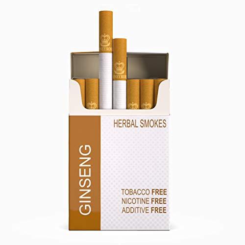 Honeyrose 'Ginseng' Tobacco Free Nicotine Free Herbal Cigarettes