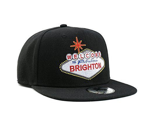 UNDERGROUND KULTURE Casquette de Baseball Inscription Welcome to Brighton Noir