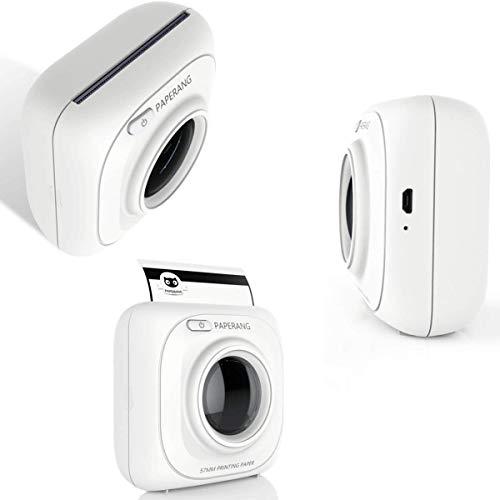 PAPERANG P1 P2 DIY-Thermodrucker HD 200 / 300dpi Pocket Portable Label, Haftnotiz, Schwarzweiß-Fotodrucker FÜR Android/IOS (P1 Thermal Printer)